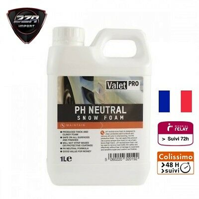 Valet Pro PH Neutre Snow Foam 1L Agent Moussant, Shampoing