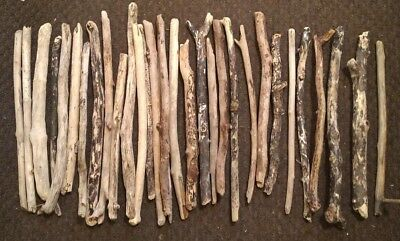 5 straight pieces of driftwood 30cm average arts crafts decor