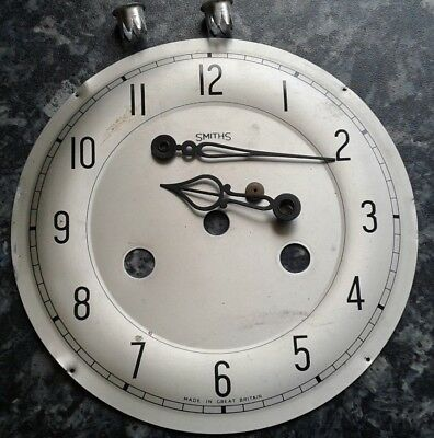 Smiths Clock Face With Hands
