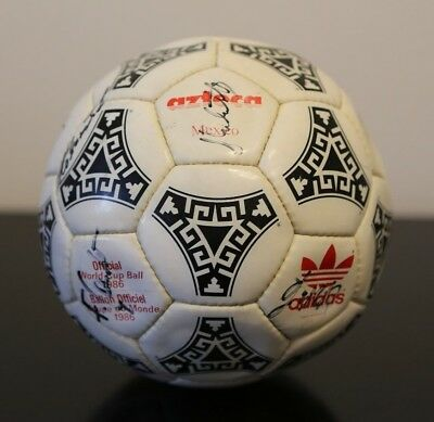 Original Adidas Mexico Azteca 1986 World Cup Match Ball Made In France