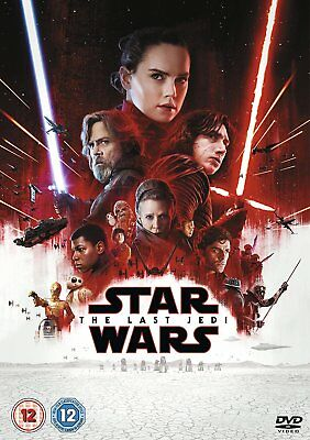 Star Wars The Last Jedi DVD Carrie Fisher Daisy Ridley Adam Driver 8717418523787
