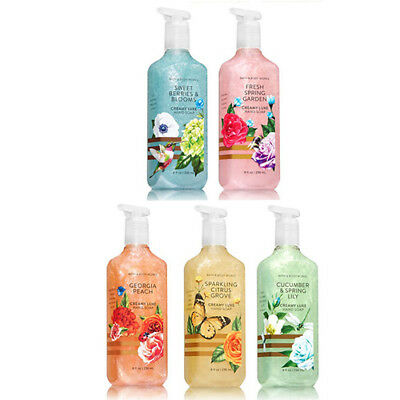 Flowers & Berries Creamy Luxe Hand Soap 236 ml Range 2018 By Bath And Body Works