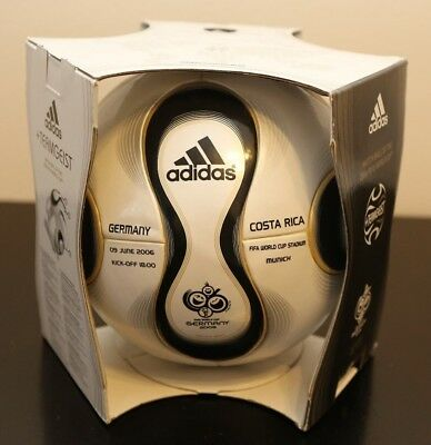 Original Adidas Teamgeist 2006 World Cup Ball With Team Names Germany Costa Rica
