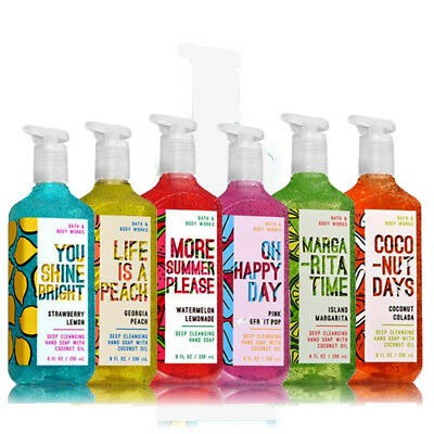 Fruity Spirits Deep Cleansing Hand Soap 236 ml Range 2018 By Bath And Body Works