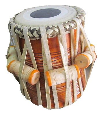 Tabla~Dayan~Mahogany~Hand Crafted for Professionals~Special Chhavri(Puddis)