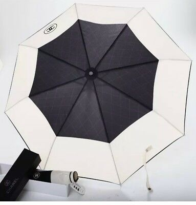 New VIP Gift Beauty Chanel Umbrella CC Logo Quilted W/ Crossbody Case.  NEW