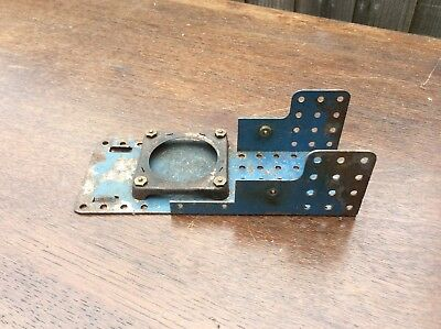 Rare Meccano 1929 steam engine base