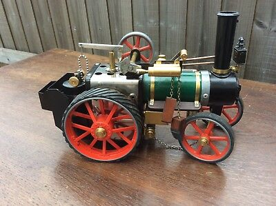Fantastic Mamod traction engine with gas burner and loads of extras