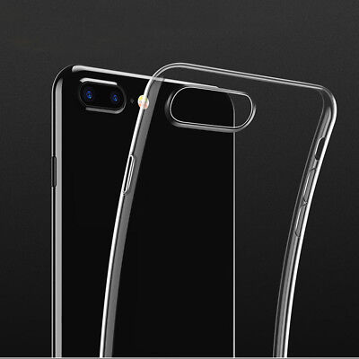 New Ultra Slim Rubber Soft TPU Silicone Back Case Cover for Apple iPhone 8 PlusA
