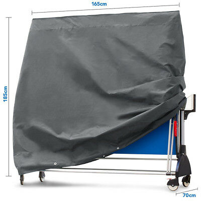 Black Full Size Table Tennis/Ping Pong Table Cover Indoor/ Outdoor hot sale