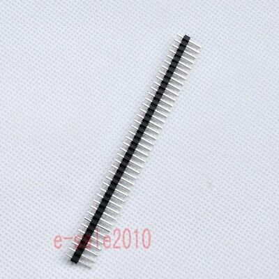 20pcs 1X40 2.54mm Pin Header Single Row Male for DIY DIP PCB Board convert G37