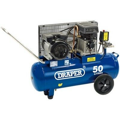 Draper 31253 50L 230V 2.2kW (3hp)  Belt-Driven Air Compressor