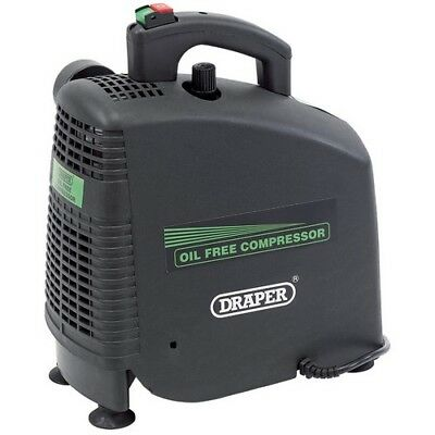 Draper 24973 230V 1.1kW (1.5hp)  Oil-Free Air Compressor