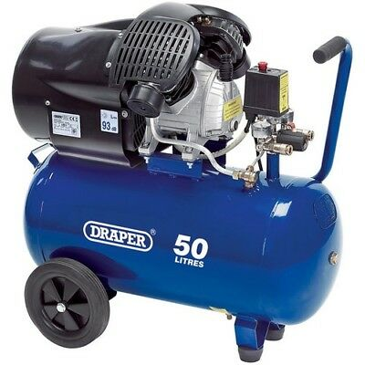 Draper 29355 50L 230V 2.2kW (3hp)  Air Compressor