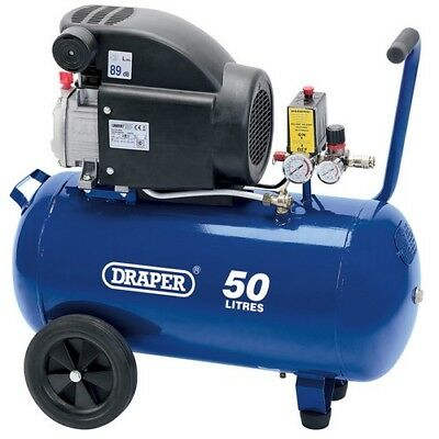 Draper 24981 50L 230V 1.5kW (2hp)  Air Compressor