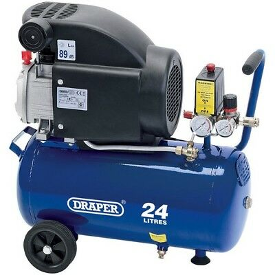 Draper 24980 24L 230V 1.5kW (2hp)  Air Compressor