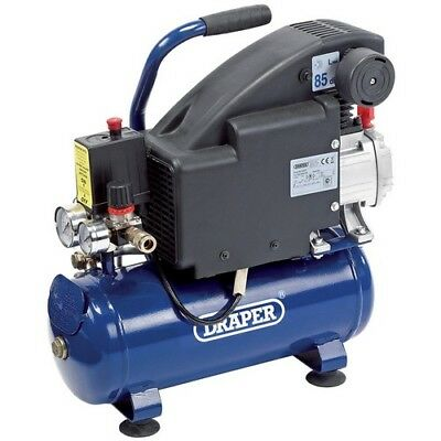 Draper 24975 8L 230V 0.75kW (1hp)  Air Compressor