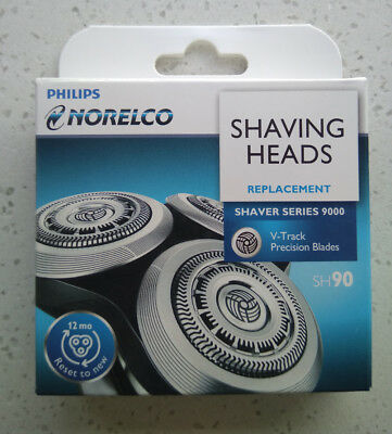 Replacement Shaver Razor Blades for Philips Norelco SH90/52 S7000 S9000 RQ12+