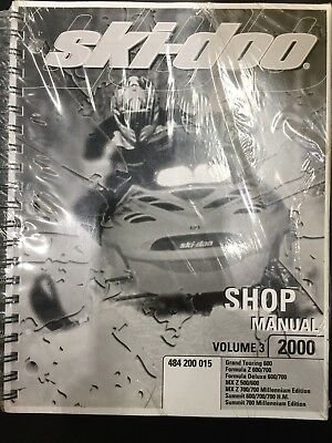 Ski Doo Shop Manual 2000 Models 500 600 700 700 HO Volume 3 484200015