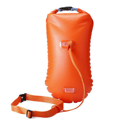 Open Water Sea Safety Swim Buoy Flotation Aid Swimming Upset Inflation Device