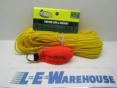 "Arborist Lineman Weaver 1/8"" X 150Ft Throw Line & 12Oz Cordova Throw Weight"