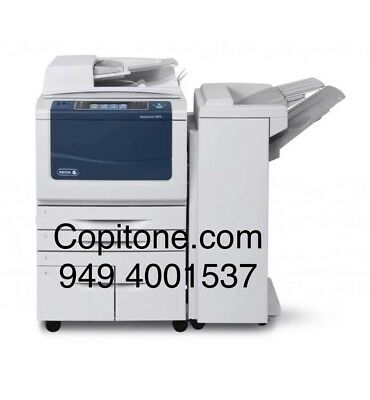 Xerox WC 5955,workcenter,copier,printer,color scan,clean,BF01 finisher