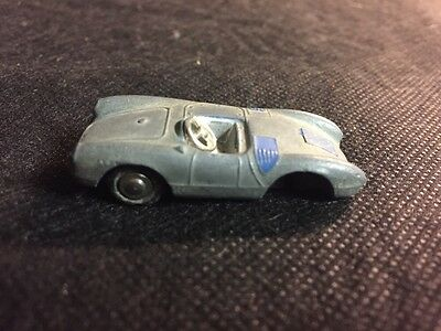 Schuco Piccolo Limited Edition (Germany) Silver Porsche 550 Spyder 1:90 As Is