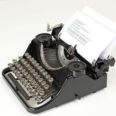 Refurbished 1936 Vintage Underwood Junior Typewriter Excellent Working Condition