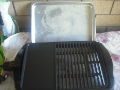 Sunbeam Electric Bbq Grill Beat the weather,grill indoor or outdoors,Never used.