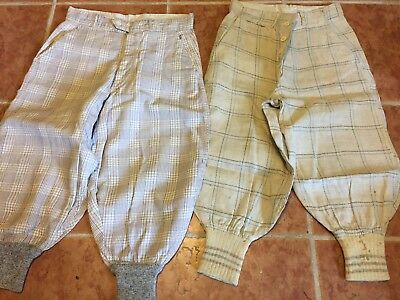 2 Pair True Vintage Little Boys' Knickers-Pants, Nice Condition