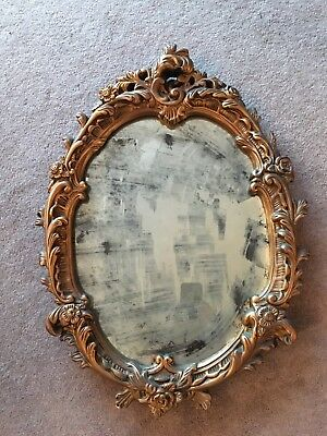 Distressed Occluded Mirror. Vintage