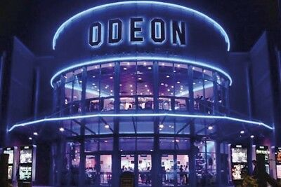 1 x Odeon cinema tickets Adult and Kids £5.49 All UK - INSTANT EMAIL DELIVERY