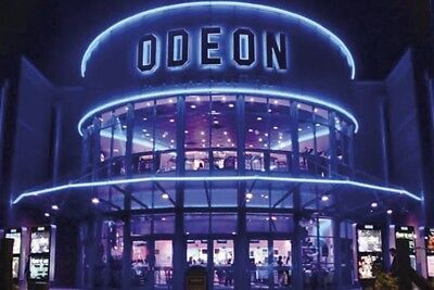 2 x Odeon cinema tickets Adult and Kids £10.79 All UK - INSTANT EMAIL DELIVERY
