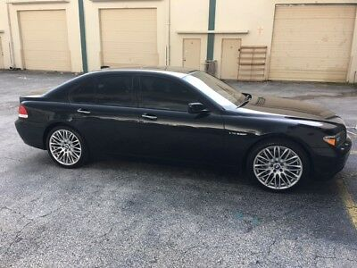 2005 BMW 7-Series  BMW 760i Sport 2005 Florida Clean Title 69500 original low miles 3rd owner