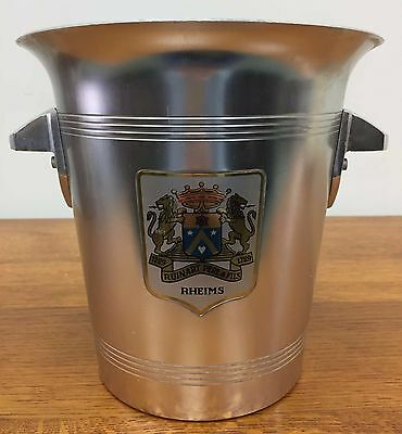 "French Vintage Champagne or Wine Ice Bucket "" Rheims ""  - DL243"