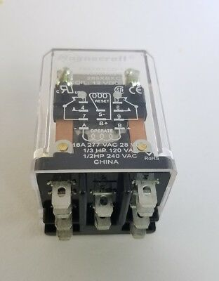 785XBXCD-12D Magnecraft 16a 277 vac 28VDC Magnetic Latching Relay