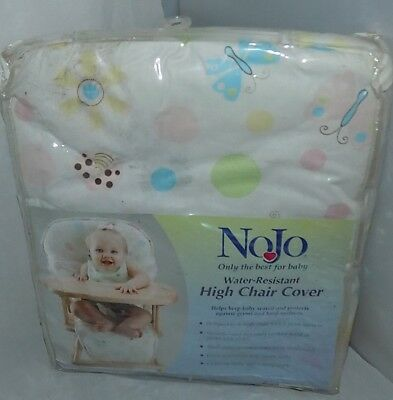 Nojo Ladybug Lullabye Water Resistant High Chair Cover