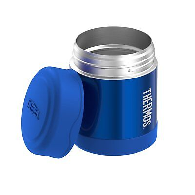 Thermos FUNtainer SS Vacuum Insulated Hot/Cold Food Jar 10 Oz - Extra Wide Mouth