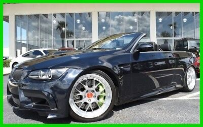 BMW M3 Convertible ~~  1-of a kind ~~ 1-owner carfax ~~ 2010 Used 4L V8 32V Manual RWD Convertible Premium