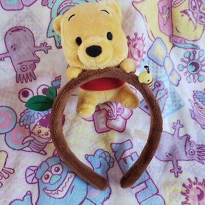 Authentic Disney Japan Limited Winnie The Pooh Headband - FREE 3 DAY SHIPPING
