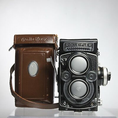 Rolleiflex 3.5F, clean, little used,  and in good operating condition.