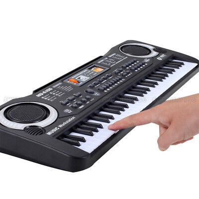 61 Key Music Electronic Keyboard Electric Digital Piano Organ with Microphone