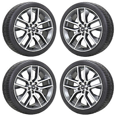 20x9 Ford Mustang Gt Wheels Rims Tires Factory Oem 2017 2016 2018 Set 10039