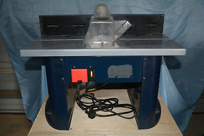 GMC Router Table With Router & Accessories.