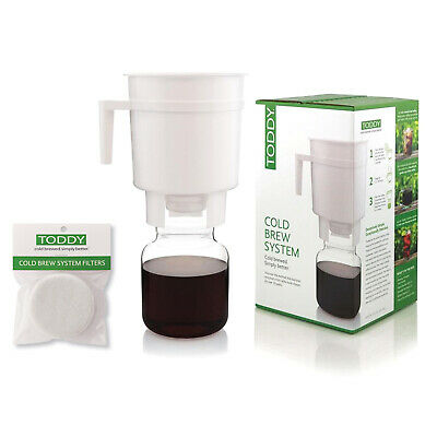NEW Toddy Cold Brew Coffee Brewing System with replacement filters
