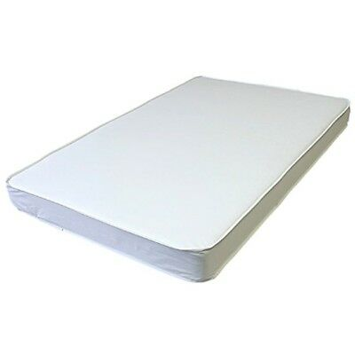 LA Baby Mini Crib Mattress, Waterproof, 24 in X 38 in X 3 in