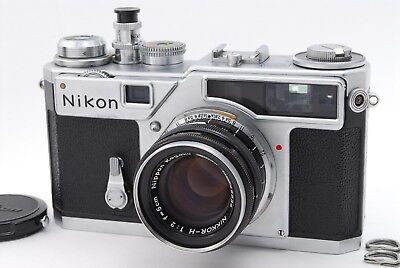 【NEAR MINT】 Nikon SP 35mm Rangefinder Film Camera with 50 mm lens Kit From Japan