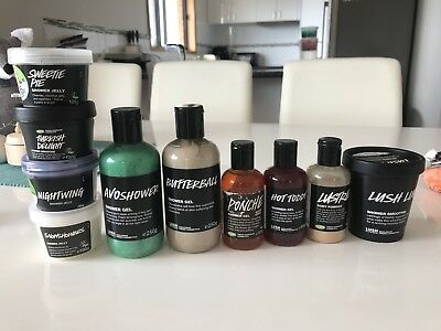 Lush Bulk Lot Of 10 Discontinued Rare Shower Gel Jelly Smoothie