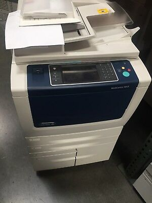 Xerox WC 5845,workcenter,copier,printer,color scan,clean,B56 finisher