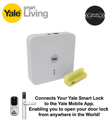 Yale SR HUB and Module Kit Enable Conexis L1 Smart Lock Unlocking from Anywhere!